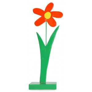 Deko-Blume aus Holz