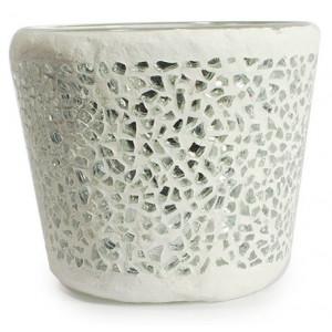 Teelichthalter / Blumenübertopf